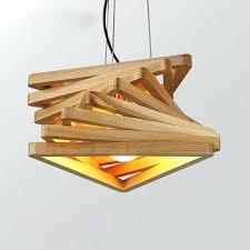 creative design lamp spiral wood pendant lights wooden hanging light rustic hanging light fixtures rustic metal