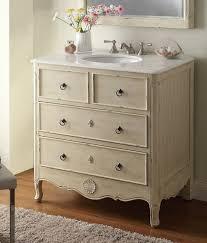 34 wide white bathroom vanity. 34 cottage look daleville bathroom sink vanity distress cream wide white