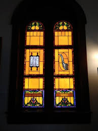jewish history museum beautiful stained glass windows