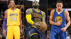 NBA All-Star Game starters: Kob Bryant ...