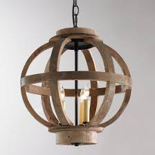 Pendant lighting rustic Lantern Mini Wood Globe Lantern Shades Of Light Rustic Farmhouse Pendant Lights Shades Of Light
