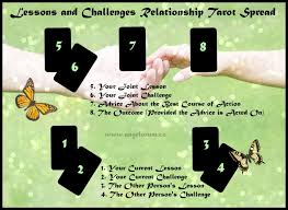 lessons challenges relationship tarot spread