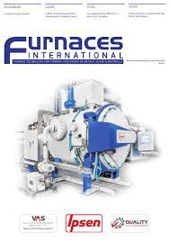 Glass Furnace Design Construction Operation Pdf Furnaces International April 2016 By Quartz Issuu