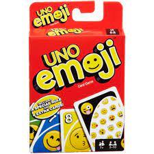 uno emojis edition card game walmart