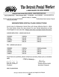 Apwu Detroit District Area Local