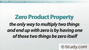 how to solve a quadratic equation by factoring