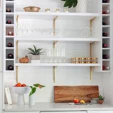 kitchen wall wine racks design ideas