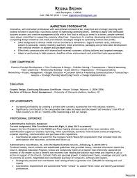 Alluring Project Coordinator Resume Objective On Logistics Sample