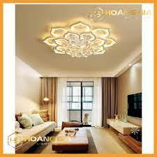 Đèn Ốp Trần - Đèn Led Trang Trí Phòng Khách 16 Cánh - 3 Chế Độ Sáng - Tặng  Điều Khiển Từ Xa