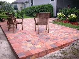 small paver patio ideas brick designs unique design all about intended for decor 16