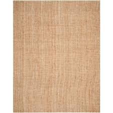 safavieh natural fiber beige 9 ft x 12 ft area rug nf447a 9 the home depot