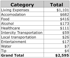 Travel Expenses Cost Of Travel Around The World Cost