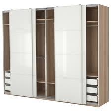 bedroom 12 beautiful sliding white wardrobe cabinet ideas closet