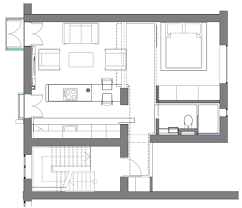 Stunning Small Studio Apartment Plans Contemporary Aislingus - Tiny studio apartment layout
