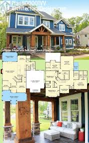 Small Picture Plan 500001VV Craftsman Keeper with Beds and Laundry Upstairs