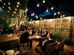 ideas for outdoor entertaining
