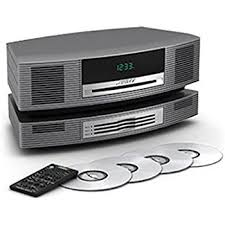 bose music system. bose wave music system with multi-cd changer -- titanium silver m