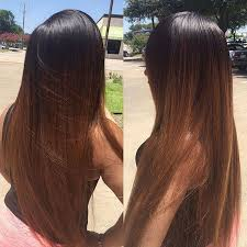 Hair Color Dark Brown Ombre Hair Color With Caramel Straight To