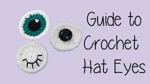 Crochet Eyes Pattern