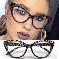 Cat Eye Optical Frames <b>vintage</b> eyeglasses <b>Transparent</b> Computer ...