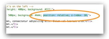 The Z-index Property: How to Control Stacking in Your Webpages ...