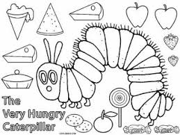 Small Picture Very hungry caterpillar coloring page 20 free printable the very