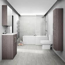 Brooklyn Grey Avola Tallboy Suite. Bathroom Color SchemesBathroom ...