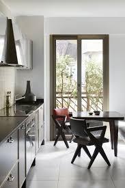 Kitchen floor tiles with white cabinets White Appliance Black And White Kitchens Elle Decor 26 Gorgeous Black White Kitchens Ideas For Black White Decor