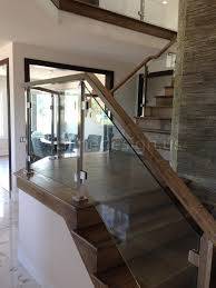 glass railing kit cneag01 clearview cable system gl stair home depot deck systems cost exterior tempered