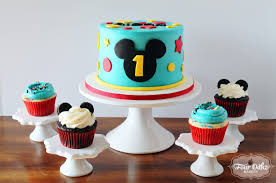 Mickey Mouse 1st Birthday Cake Mickey Mouse Themed First Birthday