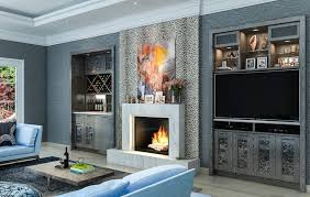Elegant ... Stylish Living Room Entertainment Center Ideas And Lavender Trumpet  Vine Living Room Eclectic With Entertainment ...