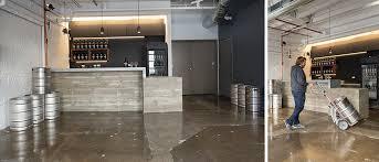 modern flooring choices on concrete