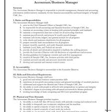 Sample Cover Letter Accounting Full Charge Bookkeeper Resume Sample