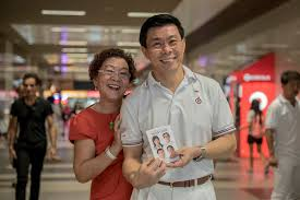 photo essay walking pap east coast candidate lee yi shyan photo by lim weixiang for sg