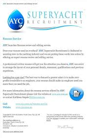 AYC Resume Review And Editing Service Wwwaycauresumeservice Inspiration Resume Review Services