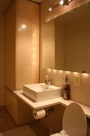 bathroom above mirror lighting. Bathroom Toilets Design Above Mirror Lighting