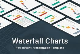 Waterfall Chart Template Powerpoint Waterfall Charts Diagrams Powerpoint Template Slidesalad