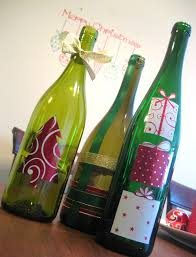 14 Of The Best DIY Wine Christmas Decoration Projects  Blog Your Wine Bottle Christmas Crafts