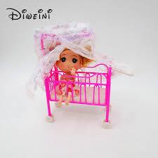 barbie doll house furniture. Katrol Renda Nyamuk Tidur Barbie Doll Dollhouse Furniture Kehidupan Gadis Aksesoris Boneka Hadiah Ulang Tahun House T