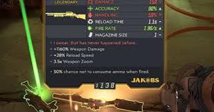 Borderlands 3 Damage Chart Borderlands 3 Best Legendary Weapons List Bl3