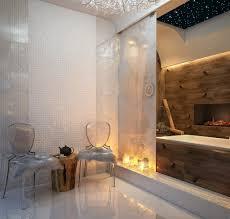 Bathroom Designs: 14 Chic Bathroom Fireplace - Bathroom Ideas