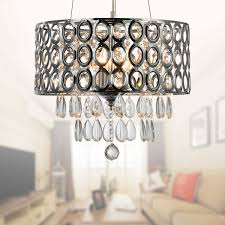 3 light modern crystal iron chandelier dk rl1189