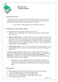 Downloadable Business Plan Template Business Plan Word Template Business Plan Templates Examples In Word