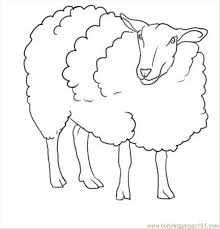 Small Picture How To Draw A Sheep Step 7 Coloring Page Free Sheep Coloring