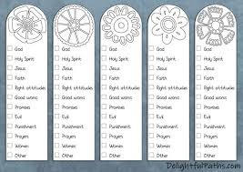 Free printable bookmarks bookmark template bookmarks kids free printables bookmarks to color reading bookmarks printable book marks student bookmarks bible verse cards coloring scripture cards christian | etsy. 5 Steps To Color Coding Your Bible With Free Printable Bookmarks Delightful Paths