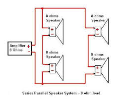 speaker wiring diagram parallel wiring diagrams 4 ohm speaker wiring diagram image about