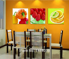 awesome pictures room decoration high quality modern printed three piece canvas kitchen wall art strawberry