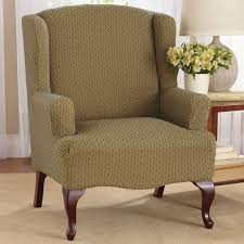 wingback chair slipcover decofurnish