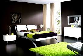 Bedroom Ideas In Green And Brown