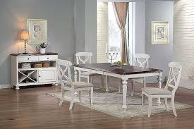 4 piece kitchen table set white and gray dining set new shaker console table lovely dining